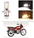 #10: AutoStark Bike CYT Double Sided Headlight LED H4 White and Yellow- Hero Splendor Plus