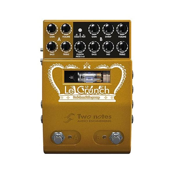 Two Notes Le Crunch Dual Channel Preamp · Effetto a pedale