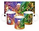 Star Trek Deep Space Nine The Next Generation Voyager Tasse Mug