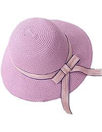 Fletion da donna donne estate spiaggia cappello sole cappelli spiaggia cappello  di paglia berretto spiaggia di 300438ed4d5d