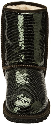 UGG  W Classic Short Sparkles,  Stivali donna Forest Night