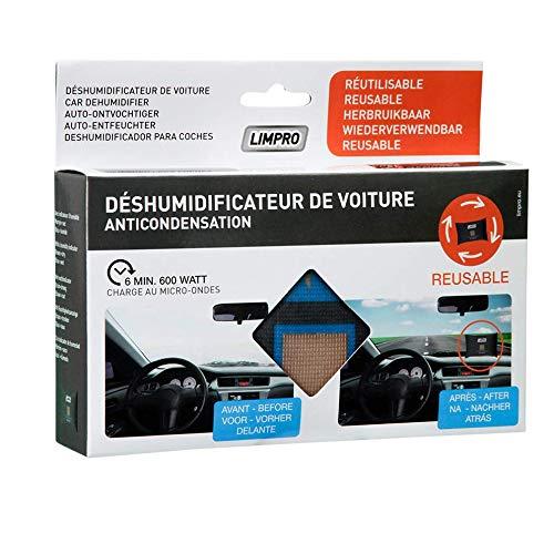 Limpro® Deshumidificador de coche 400gr – reutilizable