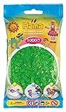 Hama 207-37 - Bügelperlen im Beutel, ca. 1000 Stück, neon-grün