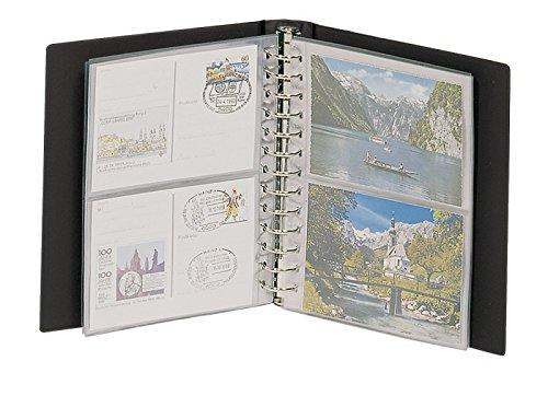 Lindner 1103K - S Postkarten-Album CLASSIC-schwarz
