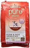 Mera Dog 053732 Hundefutter Pure Mini Huhn und Reis, 3 kg