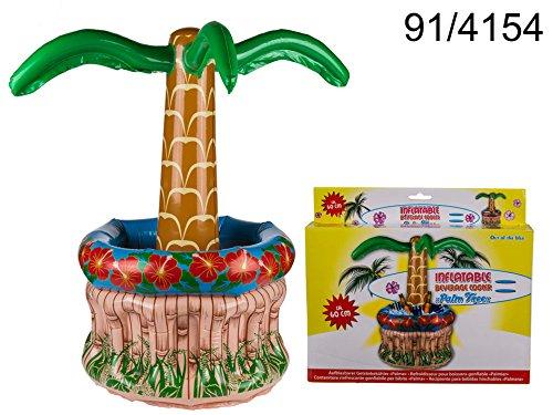 Toller Getränkekühler mit Palme aufblasbar Kühler für Getränke Sommer Party Deko