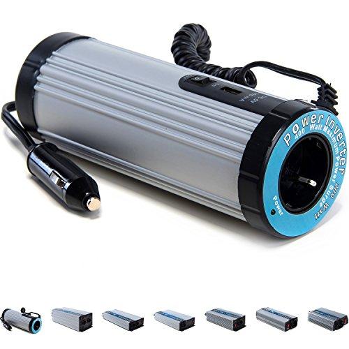 VOLTRONIC® modifizierter Sinus Spannungswandler 12V auf 230V, Stromwandler in 7 Varianten: 200 – 3000 Watt, Wechselrichter mit e8 Norm