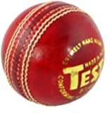 Upfront Opttiuuq Test 5.5oz MENS Cricket Ball. Top Quality alum tanned leather with cork/wool inner core with wax finish.
