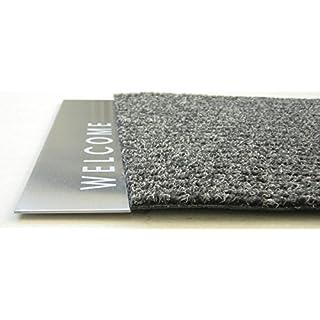 Fußmatte WELCOME Edelstahl Artikel Design