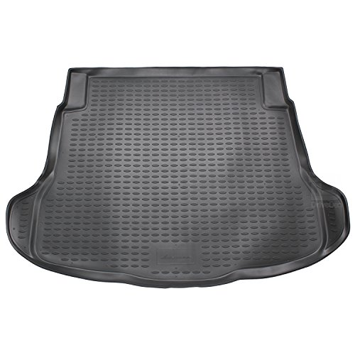 Peugeot 407 2004-on Tailored Rubber Boot Mat in Black