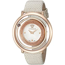 Versace Women's VQV060015 Venus Analog Display Quartz Beige Watch