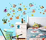 #2: Wall Murals and decors Fish Wall stickers