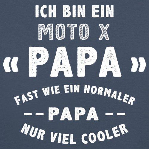 Ich bin ein Moto-X Papa - Herren T-Shirt - 13 Farben Navy
