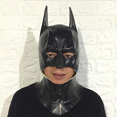 TGCYMYY Batman-Maske Die gleiche Latex-Maske wie der amerikanische Captain Manway-Film