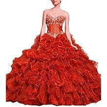 emmani Mujer Corazones vestidos de quinceañera de organza