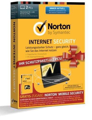 Norton Internet Security 2014 - 2 PCs inkl. Norton Mobile Security 3.0 - 1 User - Vista Usb-tastatur