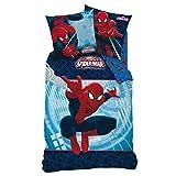Bettbezug Spiderman Aktion für Einzelbett