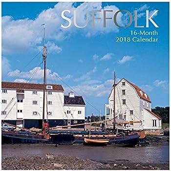 2018 Suffolk Wall Calendar 30 cm x 30 cm   with 1 Sheet Bonus