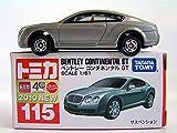Tomy Tomica No 115 Bentley Continental G...
