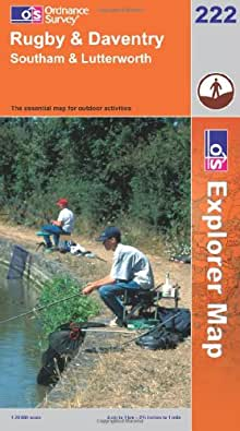Rugby and Daventry, Southam and Lutterworth (Explorer Maps) (OS Explorer Map Active)