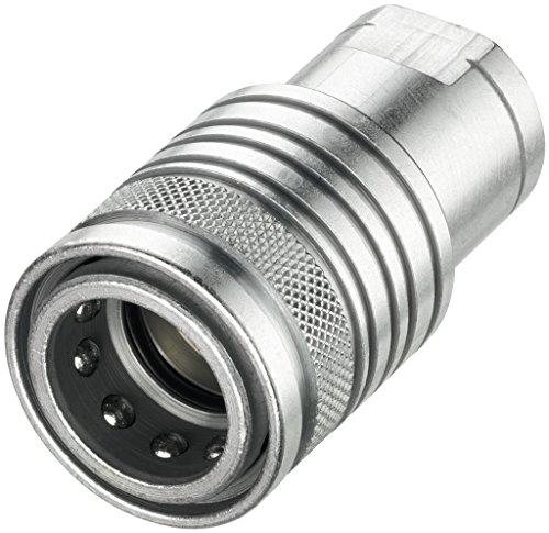 Push-Pull-Kupplung, Muffe, Baugröße 3, IG 3/8 Zoll -