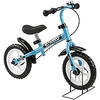 """ENKEEO 12"""" Bicicleta de Equilibrio, Bicicleta sin Pedales para Los Niños de 3-"""