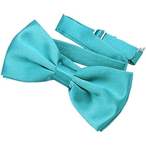 DonDon Pajarita elegante con gancho con nudo y ajustable disponible en diferentes colores