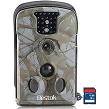 [ Set Especial ] Bestok Digital Infrarrojos Ltl-5210A 12MP 940nm 60° Digital infrarrojos de visión nocturna Vida Silvestre impermeable rastro Caza Cámara con Tarjeta SD 8G