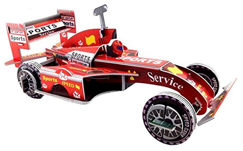 Neska Moda Ferrari Racing Car 3D Puzzle Toy for Kids Creative & Attention Building -Easy to Assemble-Min Age-3 Years  available at amazon for Rs.149