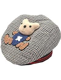 16a5ac97b0cf YICHUN Bébé Unisexe Béret Casquette Ours Chaud Bonnet Chapeau de Base-Ball de  Soleil