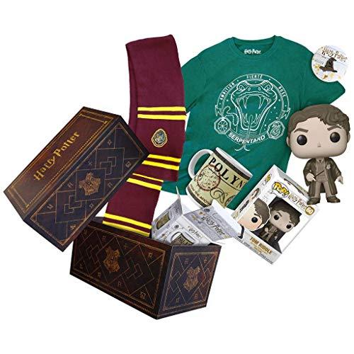 Wootbox Harry Potter - Boîte Cadeau - Harry Potter - Poudlard - Serpentard - Jedusor - Taille XL