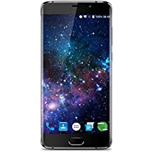 "Elephone S7 - 64GB Smartphone libre 4G LTE (Android 6.0, Pantalla 5.5"", 4GB RAM, Deca-Core, Dual cámara 13 Mp, Dual SIM, Lector de huellas dactilares, OTG, Wifi, GPS), Oro"