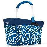 reisenthel - EXKLUSIVES ANGEBOT! carrybag + GRATIS passendes cover ! Einkaufskorb Einkaufstasche (funky hearts)