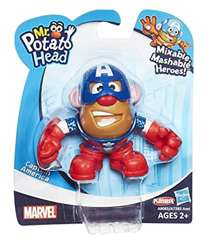 Mr. Potato Head Captain America - Mixable, Mashable Heroes