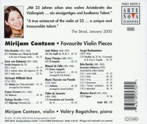 Favourite Violon Pieces