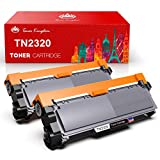 Toner Kingdom 2 Pack Cartucho de tóner Compatible Brother TN2320 para su Uso en Brother HL-L2300D...