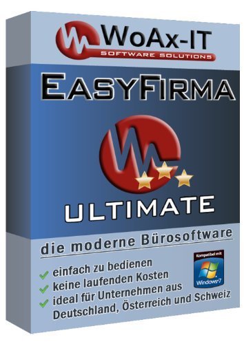 EasyFirma Ultimate - Bürosoftware, Mahnungen, Einnahmen, Ausgaben, Umsatzsteuer