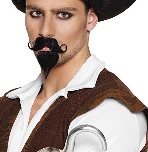 Kostüm Schnurrbart Spitzbart - Schnurrbart und Spitzbart