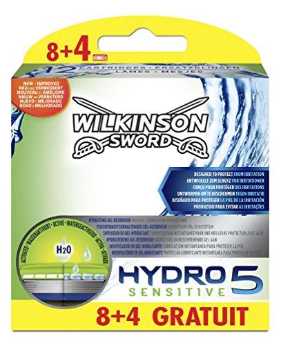 Wilkinson Hydro 5 Sensitive - 12 Hojas