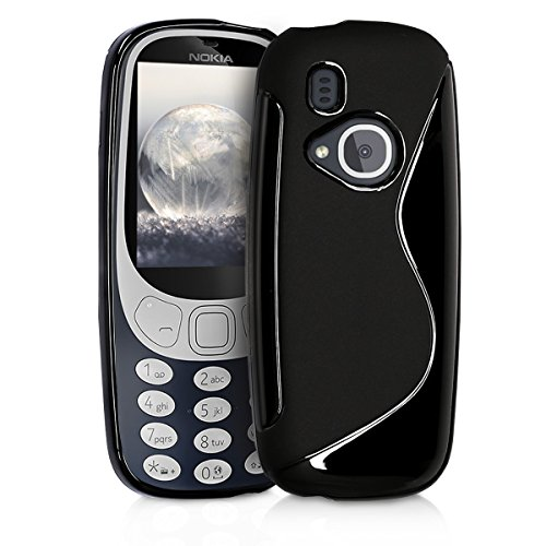 kwmobile Nokia 3310 (2017) Hülle - Handyhülle für Nokia 3310 (2017) - Handy Case in Schwarz