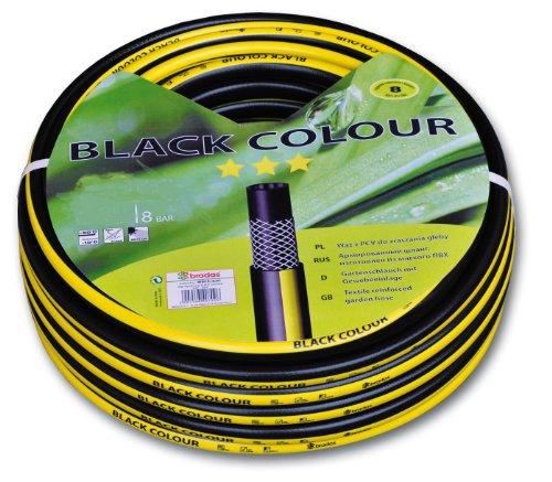 "Gartenschlauch BLACK COLOUR Wasserschlauch 1/2"" Zoll 50 m"