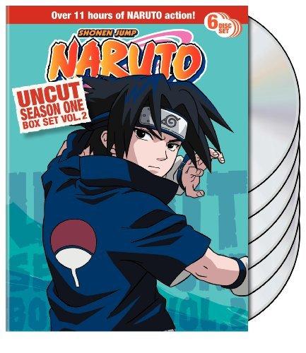 Naruto Uncut Box Set: Season 1, Vol. 2 by Various
