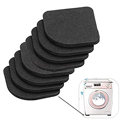 8PCS Universal Silent Feet Anti-Vibration Pads for Washing Machines Dryers Refrigerator Home Appliance