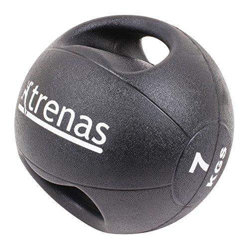 TRENAS PRO Balón medicinal con asas - 7 kg