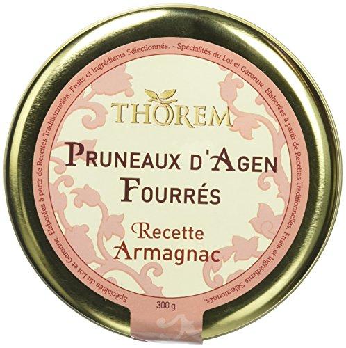 THOREM Boite Métal Prestige Pruneaux Fourrés à l'Armagnac 300 g