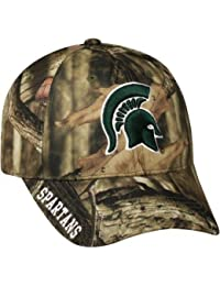 new product 2a513 21bfb NCAA Men s Michigan State Spartans Mossy Hat   Cap