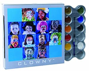 Ses 09695 - Paleta de maquillaje para disfraz (10 colores)