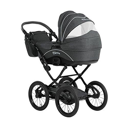 Bild 12: Knorr-Baby 36000-8 Kombikinderwagen Classico, grau