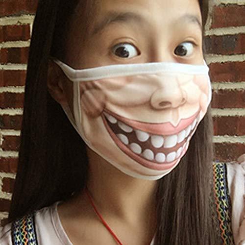 baumwoll-Maske für Weihnachten, Party, Maskenball, Rollenspiel-Kostüm ()