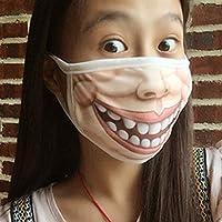 Mundmaske, Halbbaumwoll-Maske – Weihnachtsparty, Maskenball, Rollenspiel-Kostüm preisvergleich bei billige-tabletten.eu
